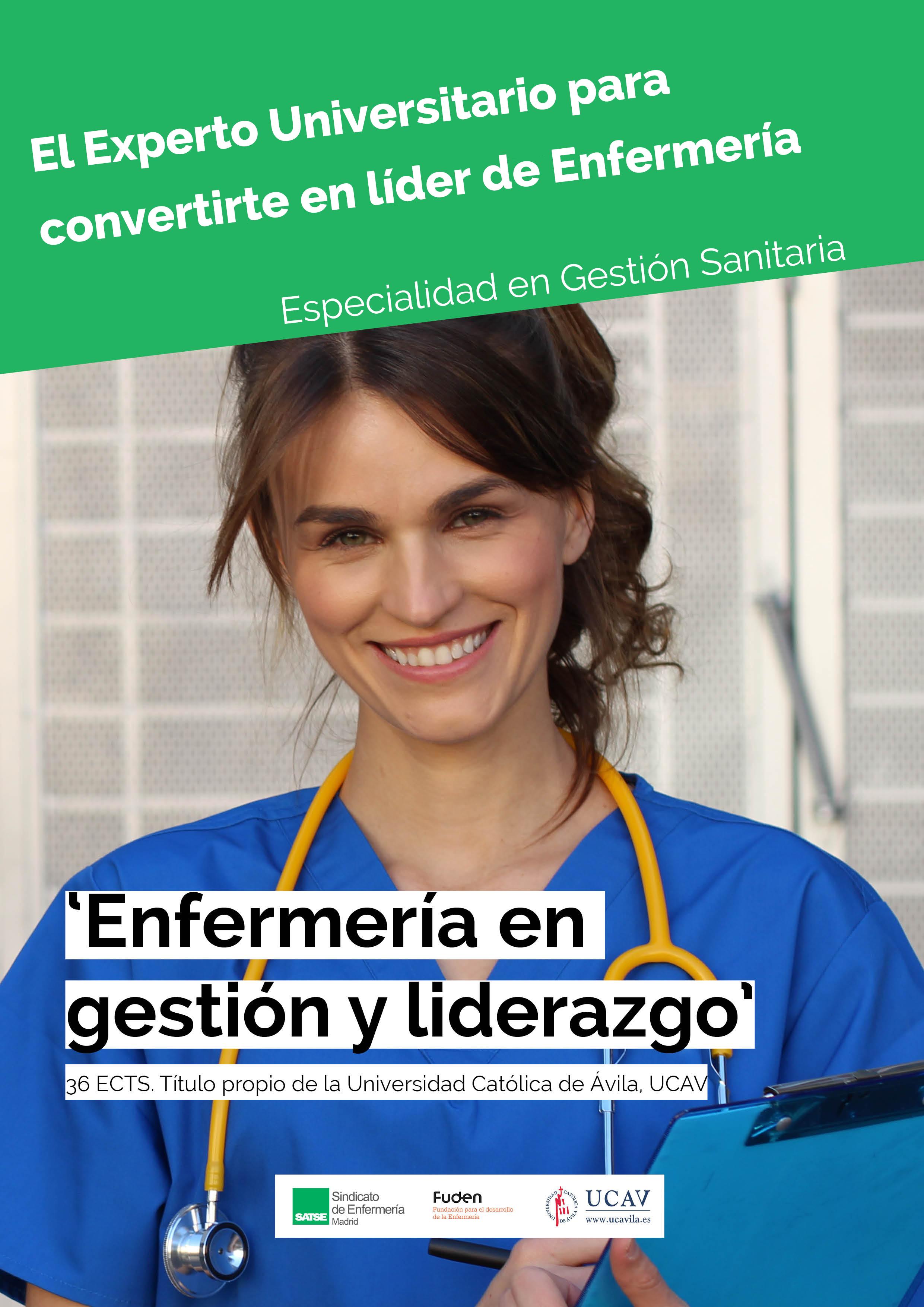 Matrícula en el Experto Universitario en Capacitación de Enfermería en Gestión y Liderazgo de Equipos