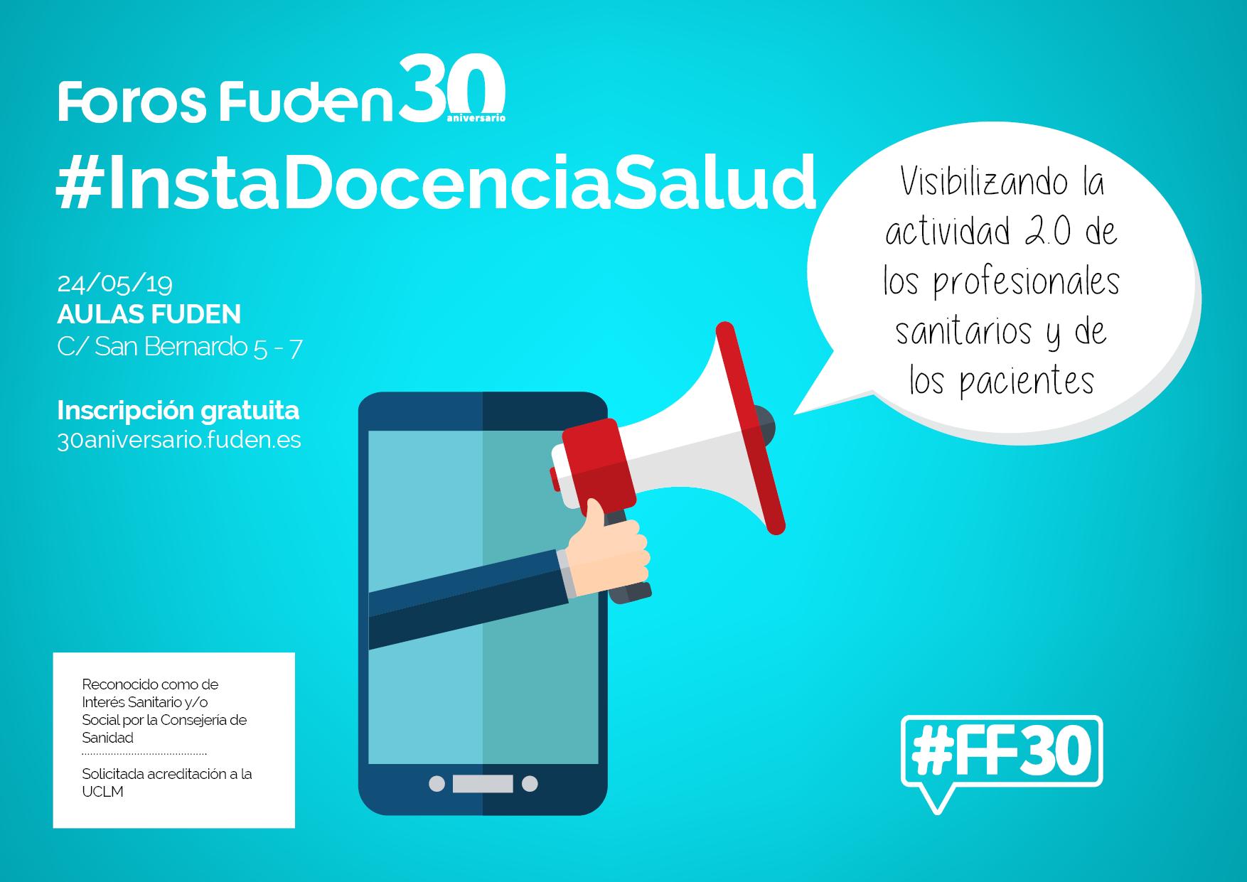 Foro Fuden. #InstaDocenciaSalud