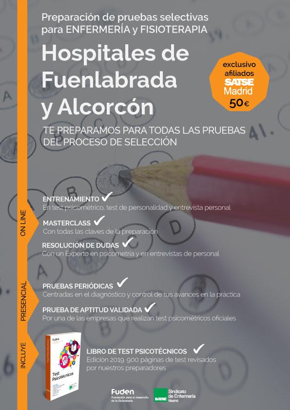 Preparación OPE Hospital de Fuenlabrada y Alcorcón