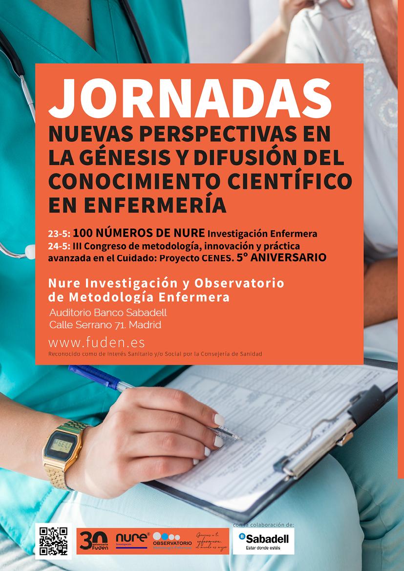 Inscripción 24/05. III Congreso de metodología, innovación y práctica avanzada en el Cuidado: Proyecto CENES