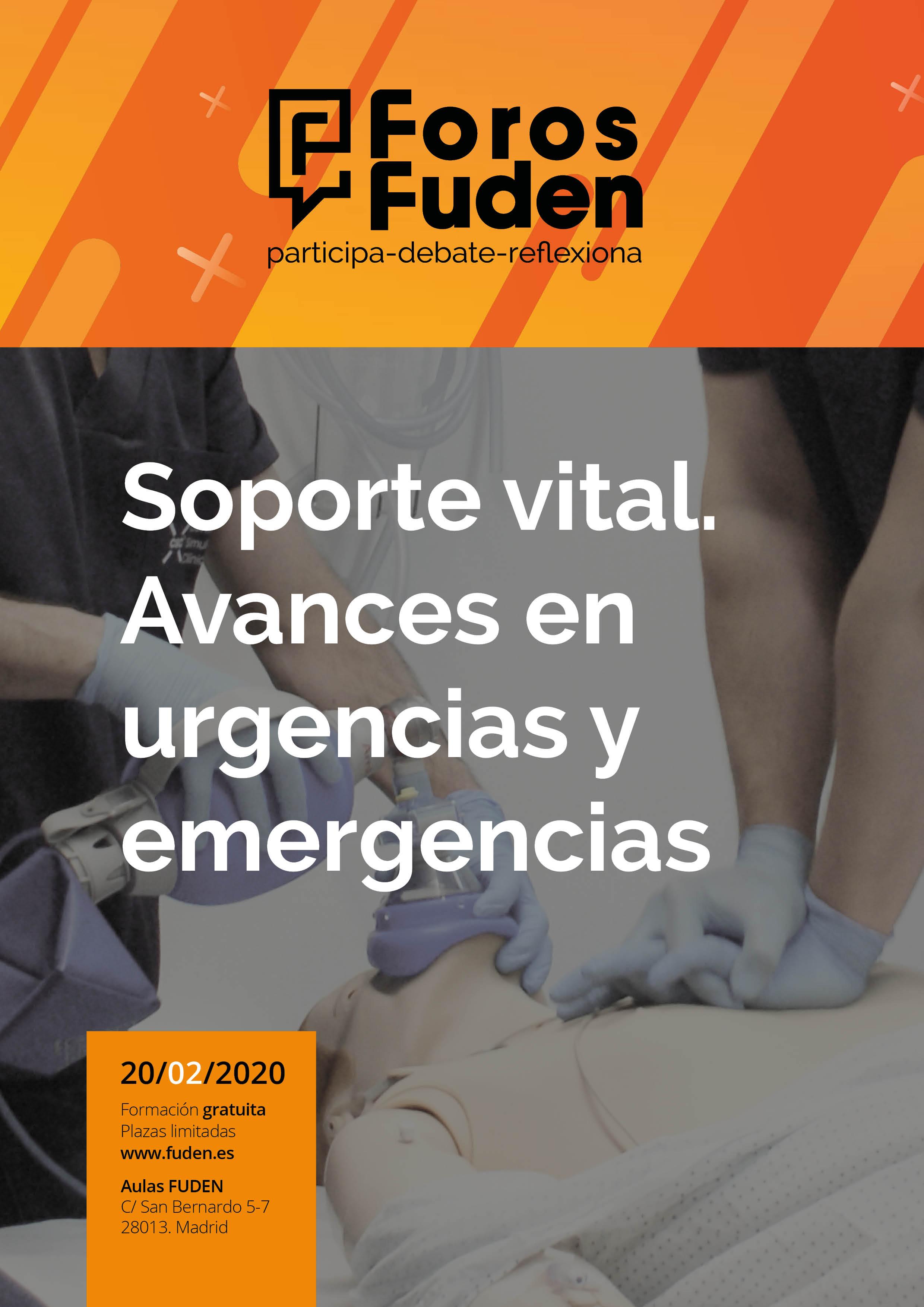 Foro Fuden 2020. Soporte vital. Avances en urgencias y emergencias