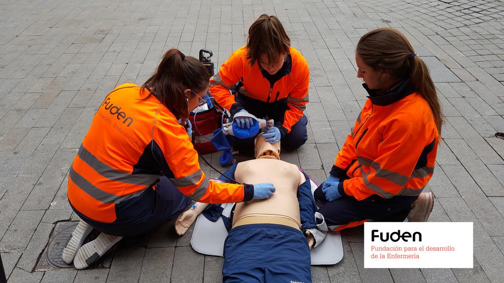 2020 Experto Universitario de Enfermería en Urgencias Extrahospitalarias FUDEN-UCAV. Turno tarde